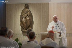 Papa: não adianta falar de paz se o coração está em guerra