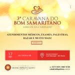 Catedral de Palmas realiza 3ª Caravana do Bom Samaritano