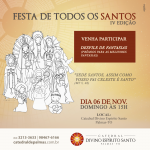 Catedral celebra Dia de Todos os Santos com desfile de fantasias