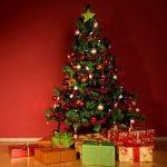 Bênção da ??rvore de Natal em família