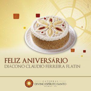 Aniversário do Diácono Claudio Flatin