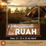 Acampamento Ruah inscreve participantes até 1º de abril
