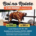 Boi no Rolete tem renda revertida para construção da Catedral