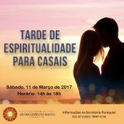 Pastoral Familiar organiza Tarde de Espiritualidade para Casais