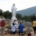 Papa expressa pela primeira vez sua opinião sobre aparições de Medjugorje