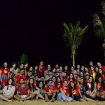 Grupo de Jovens Ruah encerra mais um semestre com luau