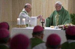 Em homilia, Papa reflete sobre a familiaridade com Jesus