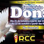 Seminário de Dons acontece neste fim de semana na Catedral de Palmas