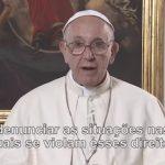 Papa: recordar sempre os direitos dos trabalhadores