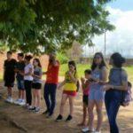 Catequizandos realizam encontro para crianças do setor Santo Amaro