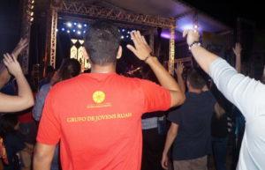 Fiéis se reúnem para 2º dia de shows no Palmas capital da fé