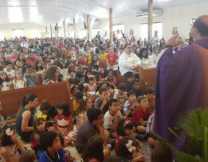 Fim de semana na Catedral: Encontro de formação da Pastoral do Batismo e retorno da Catequese