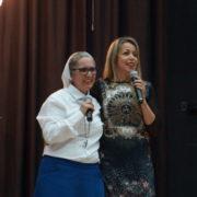 "Irmã Zélia e Adriana Arydes na 1ª sessão ""Entre Mulheres"""