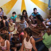 Foto:  Crianças do Projeto Mãe da Ternura assistidas pela Pastoral Social