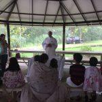 Adoração e convivência fraterna marcaram retiro da Pastoral do Dízimo