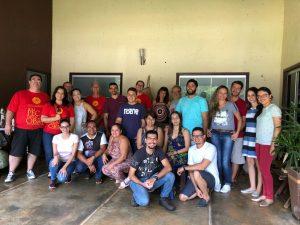Participantes do Retiro da Pastoral Social