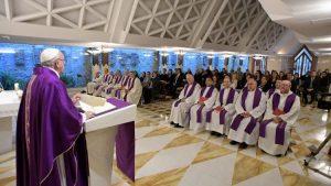 """""""O Senhor não se esquece de nós e nos ama com amor visceral"""", afirma Papa"""
