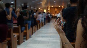 Imagem: Catedral fica lotada para evento com Ironi Spuldaro/ Foto: Heraldo Lima