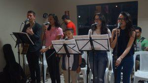 Ministros de música da Catedral de Palmas/ Foto: Heraldo Lima