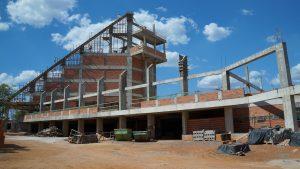 Obra da Catedral de Palmas recebe visita técnica do arquiteto responsável