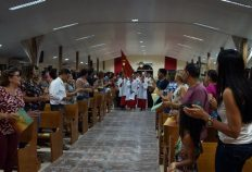 Missa de abertura dos Festejos do Divino Espírito Santo