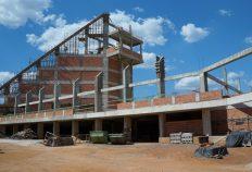 Visita técnica do arquiteto responsável pela obra da Catedral 29/08