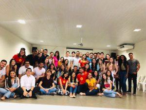 Jovens reunidos para 1º encontro do Ruah em 2019
