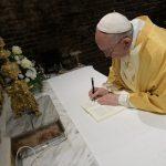 Papa assina em Loreto a Carta pós-sinodal aos jovens