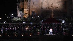 Com Cristo e as mulheres no caminho da Cruz
