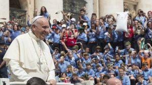 5.000 Escoteiros europeus com o Papa em agosto