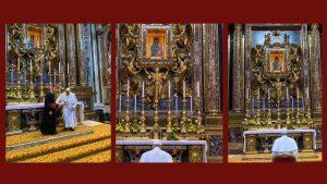 Papa confia a Nossa Senhora sua 31° viagem apostólica