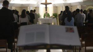Papa na Santa Marta: há uma festa quando a Palavra chega ao coração
