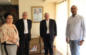 CNBB recebe do Papa mais equipamentos para combate ao novo Coronavírus